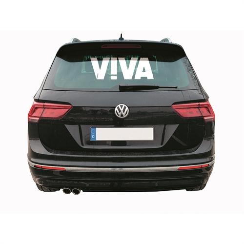 Viva - Schriftzug, Heckscheibenaufkleber